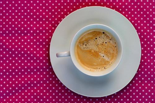 Pink, coffee